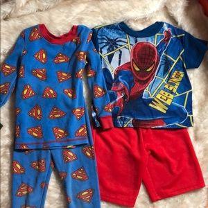 Other - Bundle of Boys 4T Pajamas